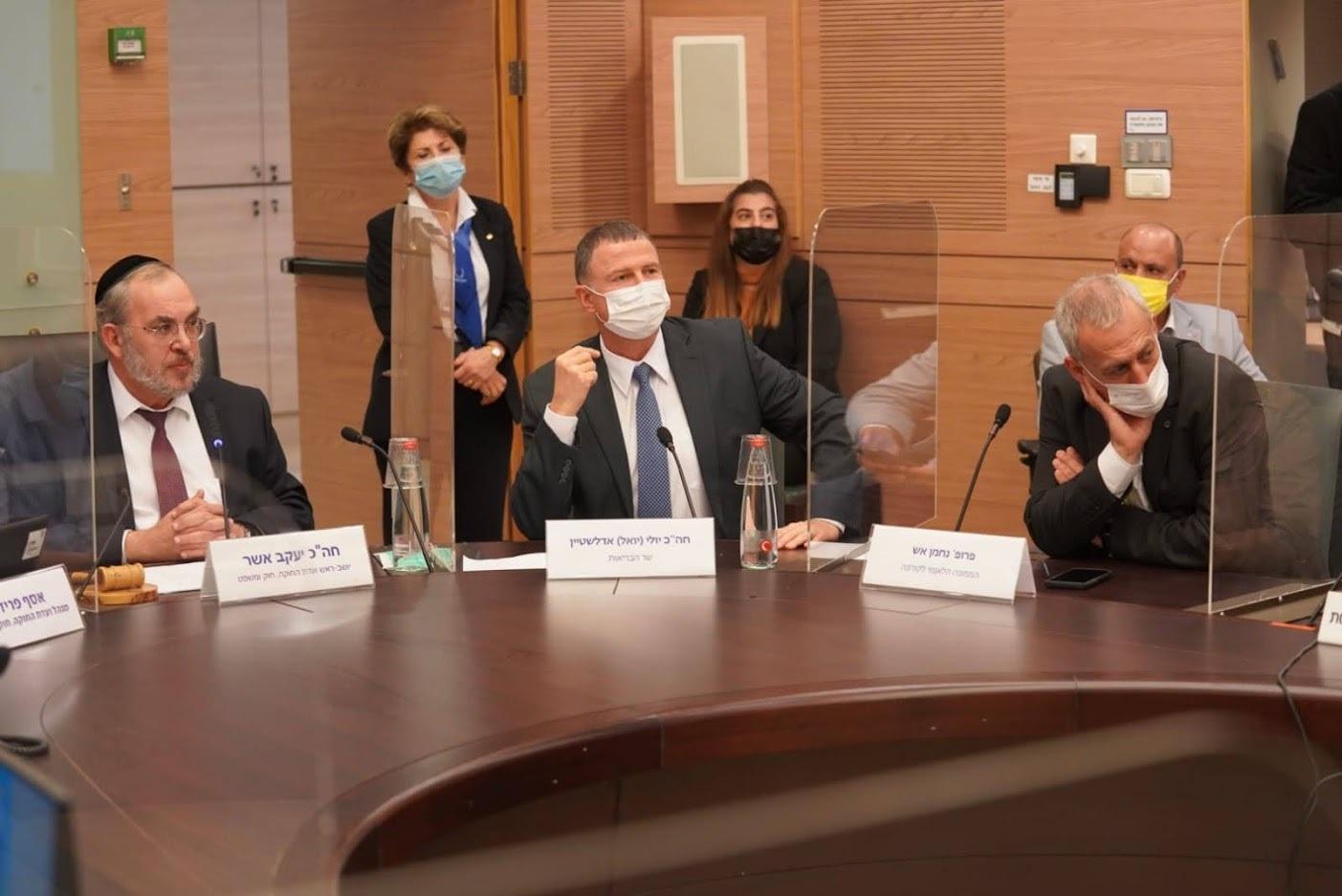 ועדת החוקה - צילום - דוברות הכנסת